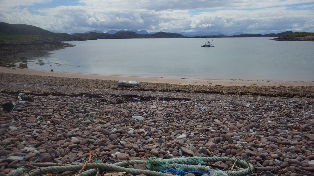 Scotislands Isle Ristol fishing debris