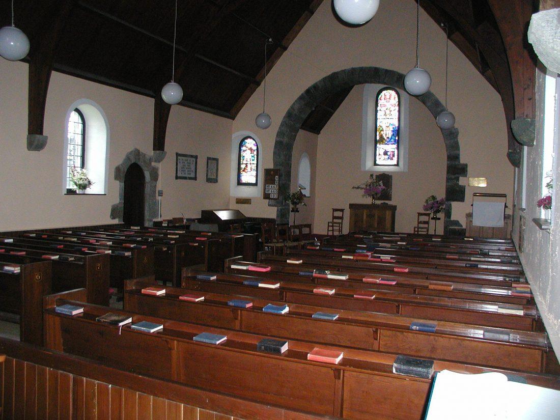Scotislands Gigha church