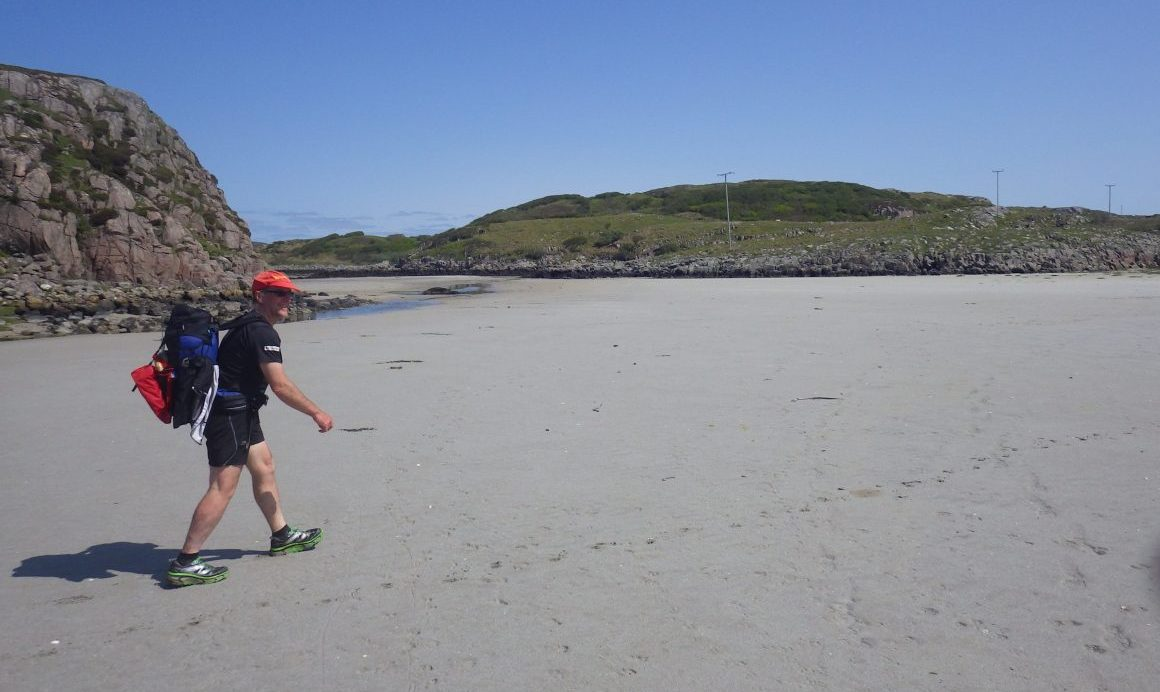 Erraid strand to Mull