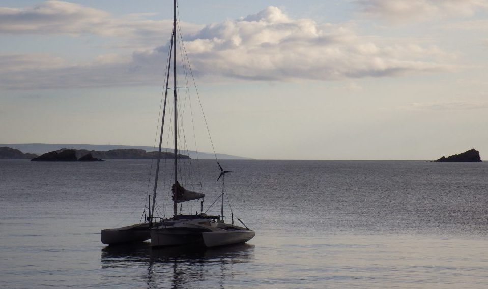 Tanear Mor Trade Winds anchored