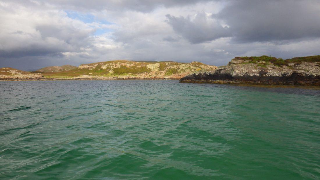 Clear water Scotland west coast