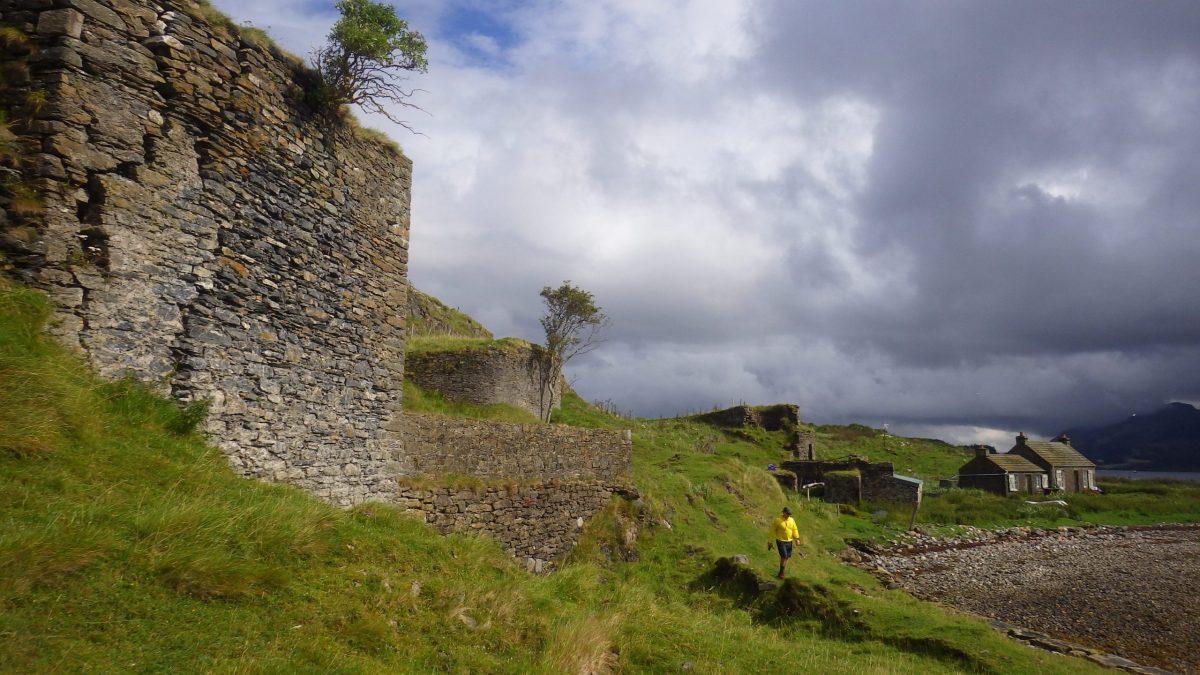 Scotislands Eilean nan Caorach Appin Kiln cottage