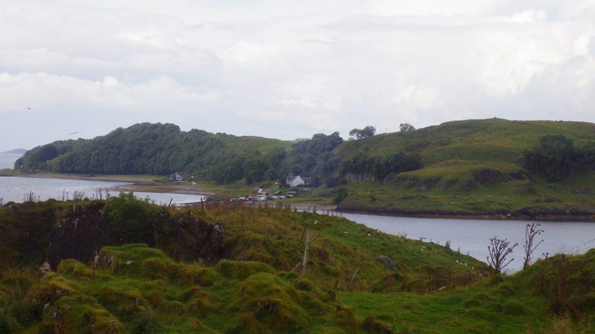 Scotislands Eilean nan Caorach Appin LIsmore landing