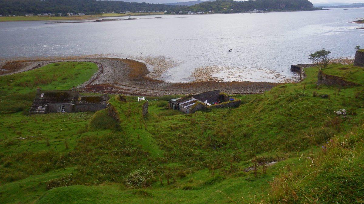 Eilean nan Caorach Island scotland