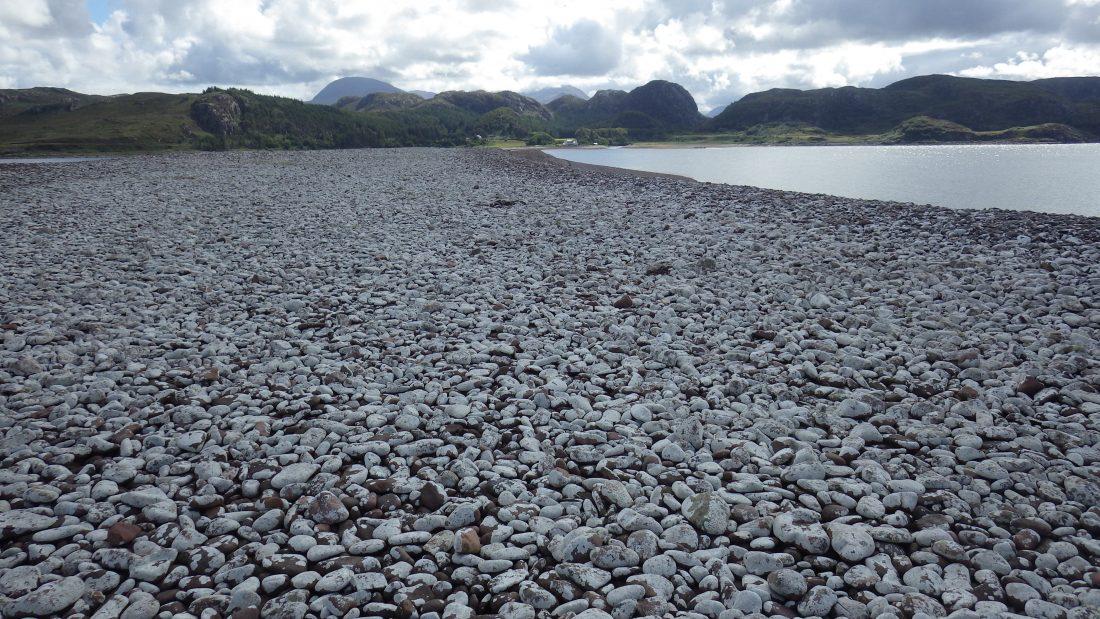 Scotislands Gruinard boulder bay