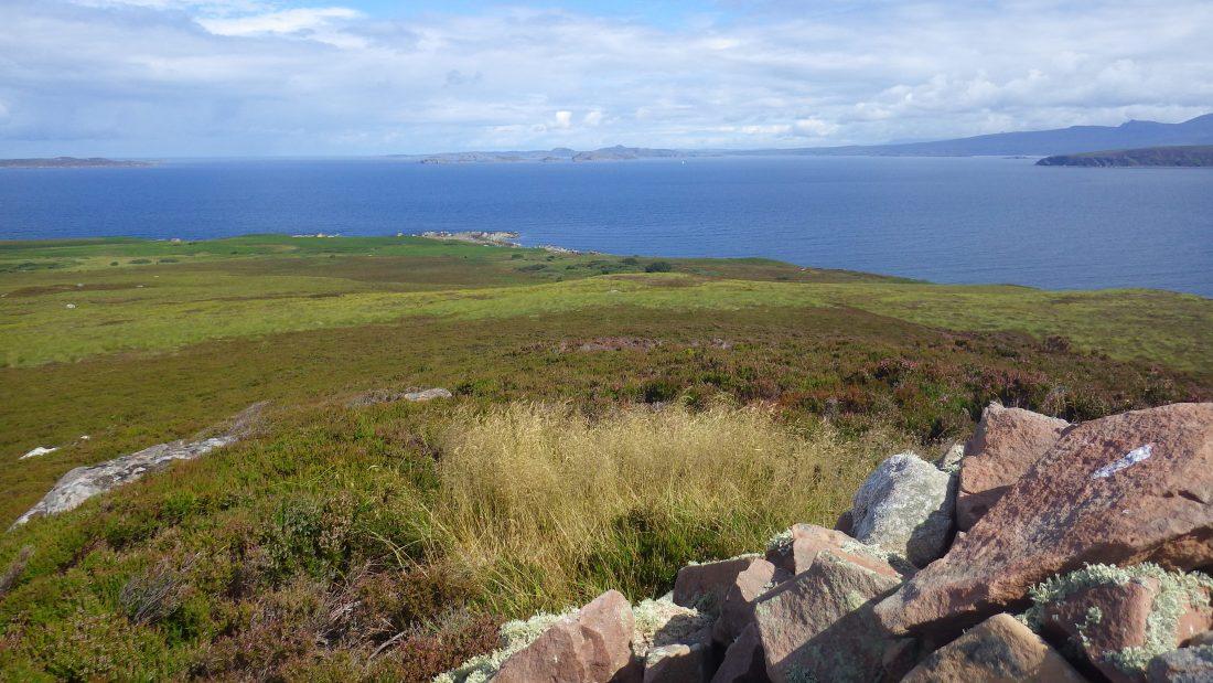 Scotislands Gruinard cairn