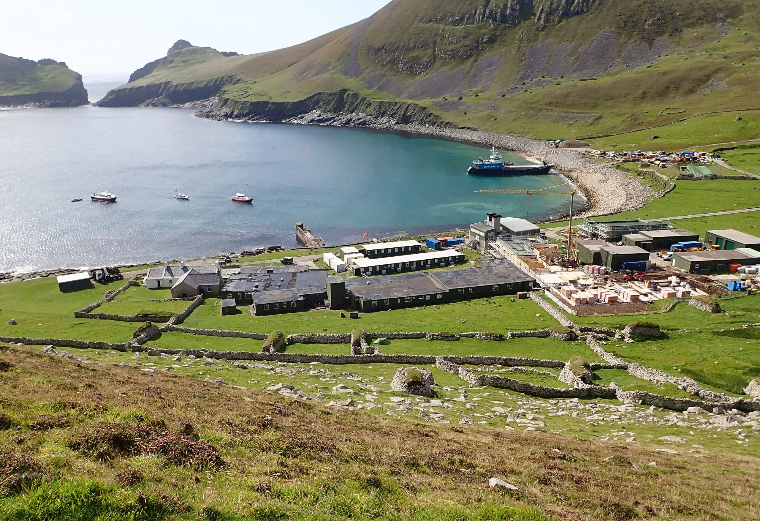 ST Kilda MOD base Scottish Islands Scotislands