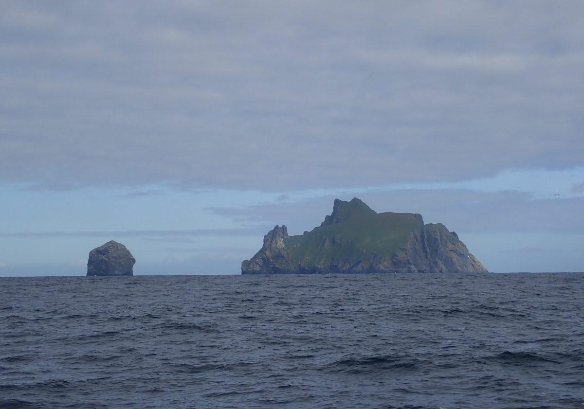 Scotislands St KIlda ahead