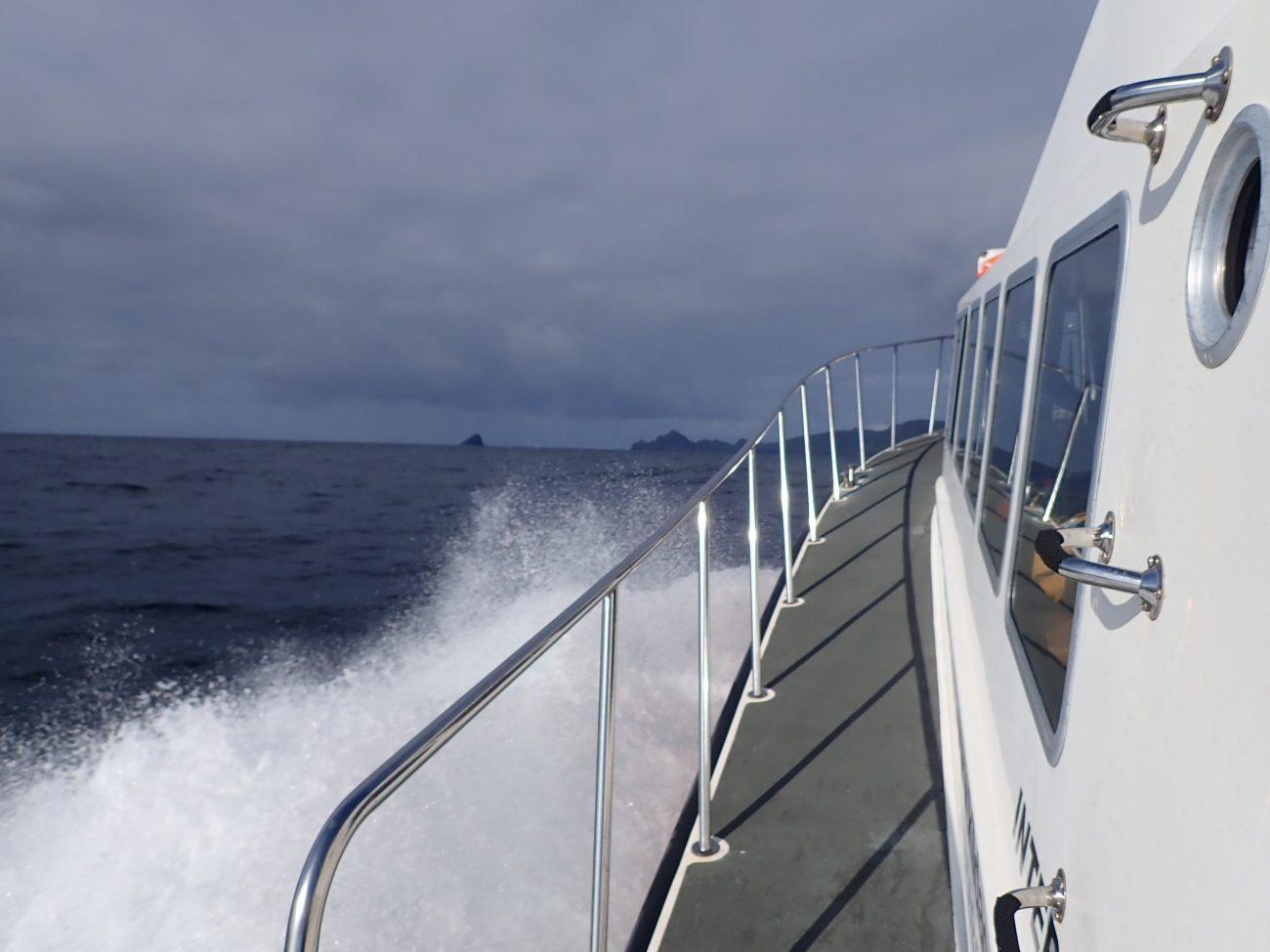 Scotislands St Kilda on horizon