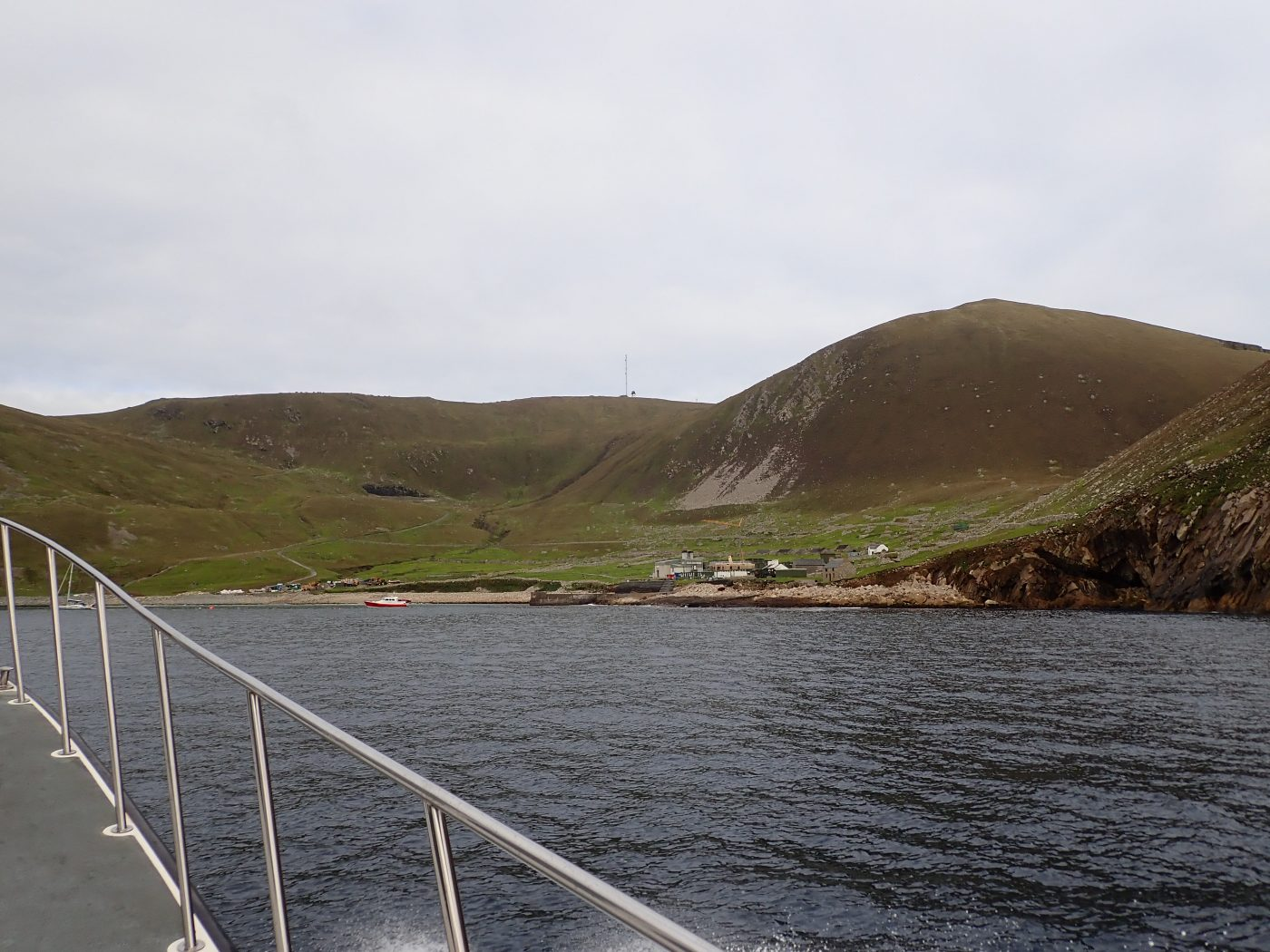 Scottish Islands Village Bay St Kilda arrival
