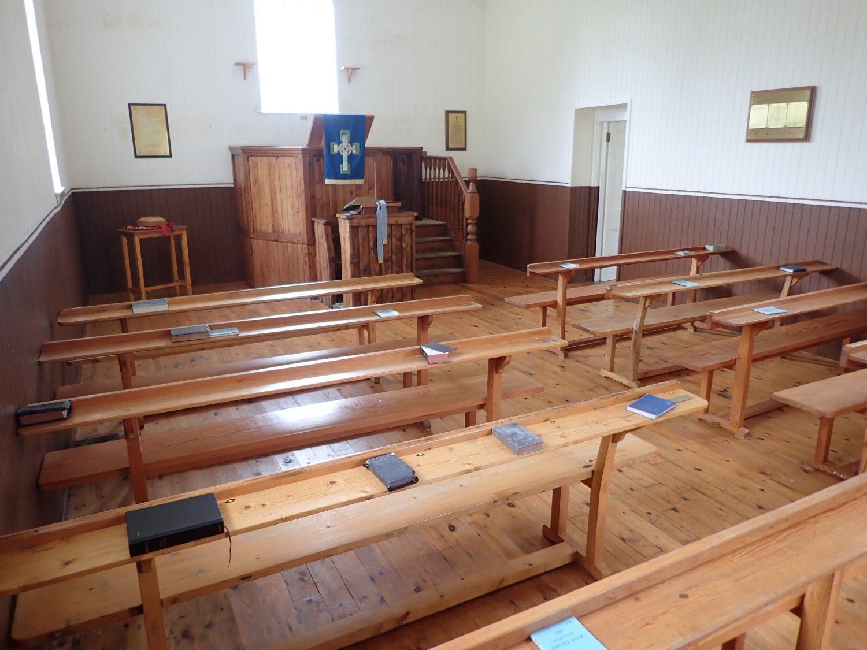 St Kilda Church Scotislands Scottish Islands