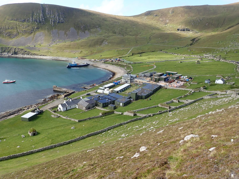St Kilda MOD base Village Bay