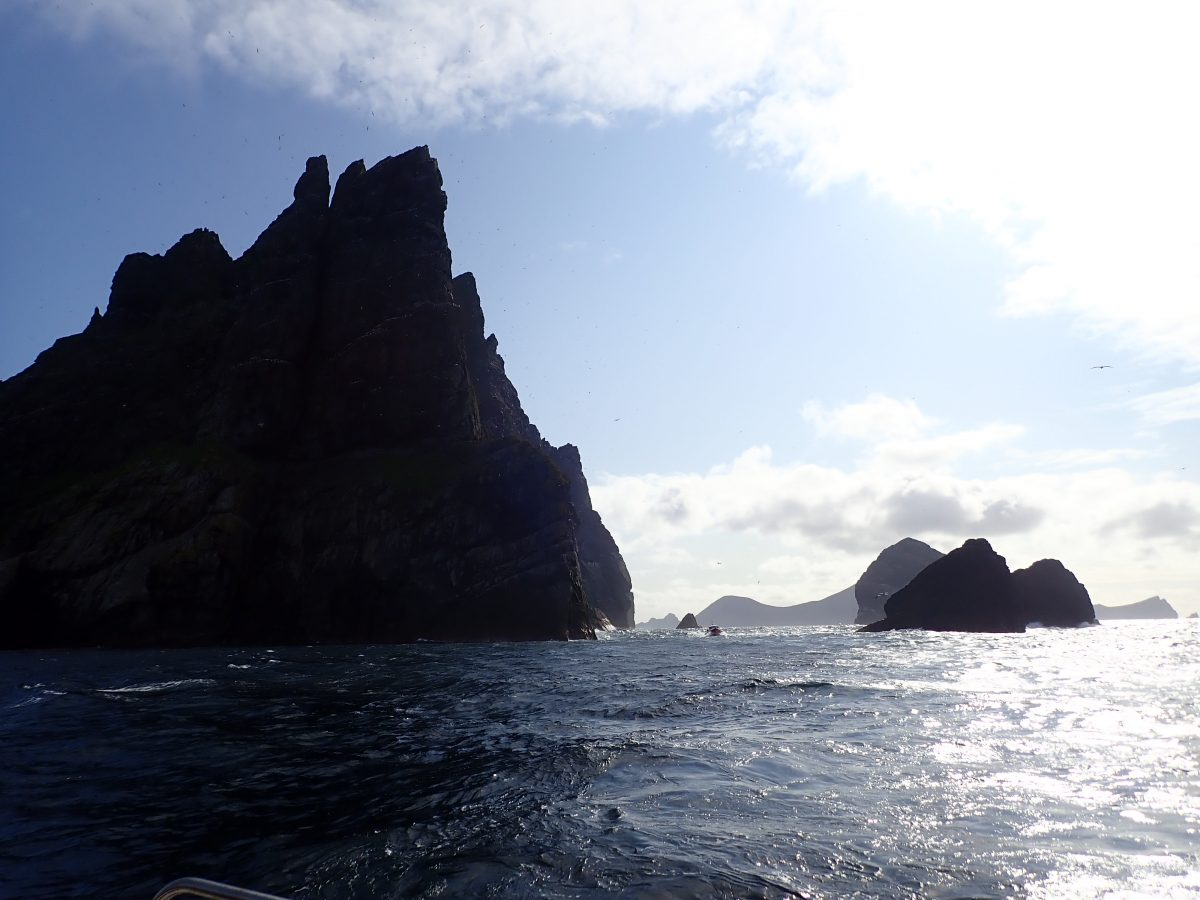 St Kilda Stac an Armin Boreray Scottish Islands Scotislands