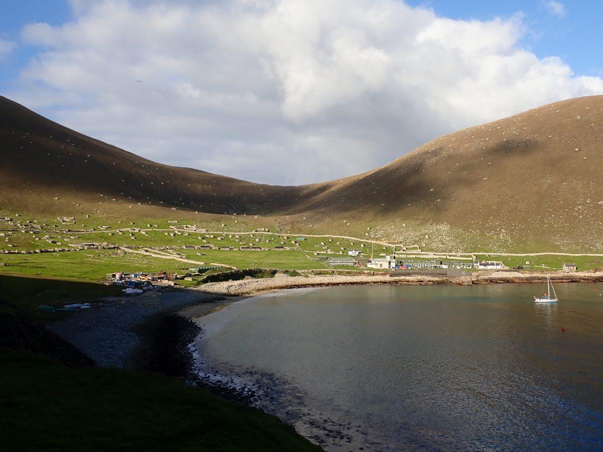 St Kilda Village Bay Scotislands Scottish Islands