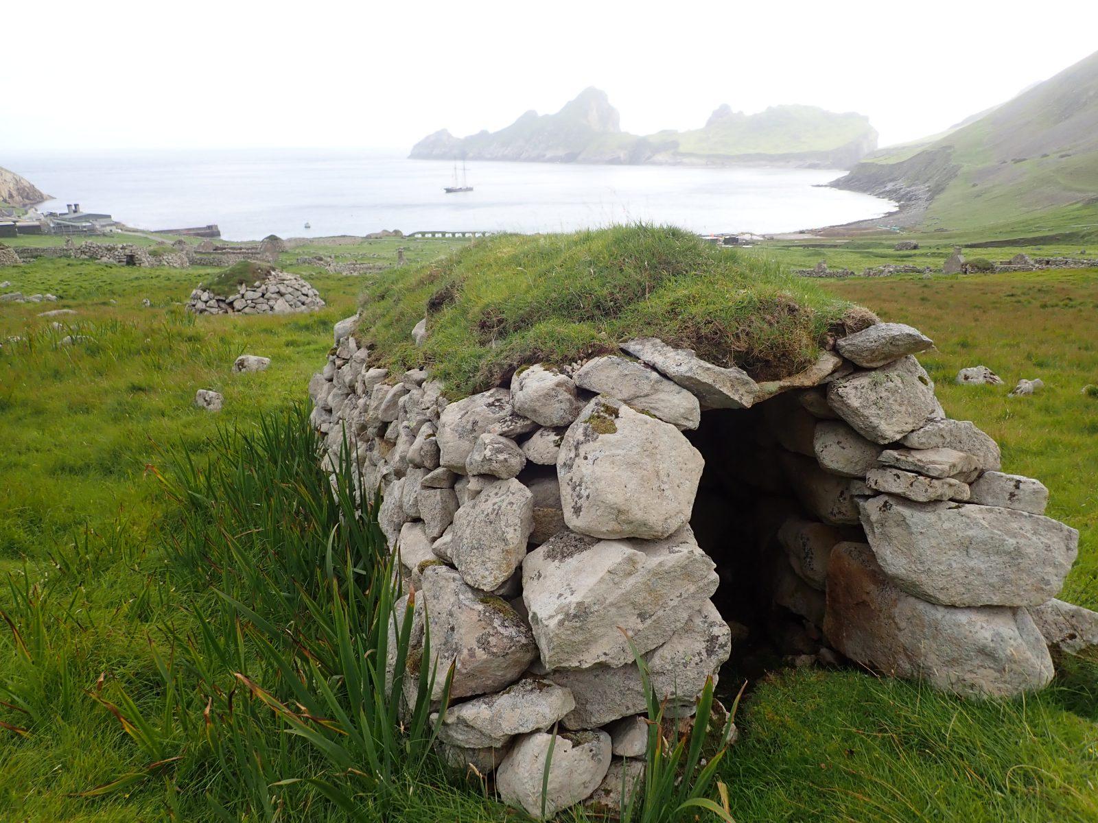 St Kilda cleit Scotislands Scottish islands