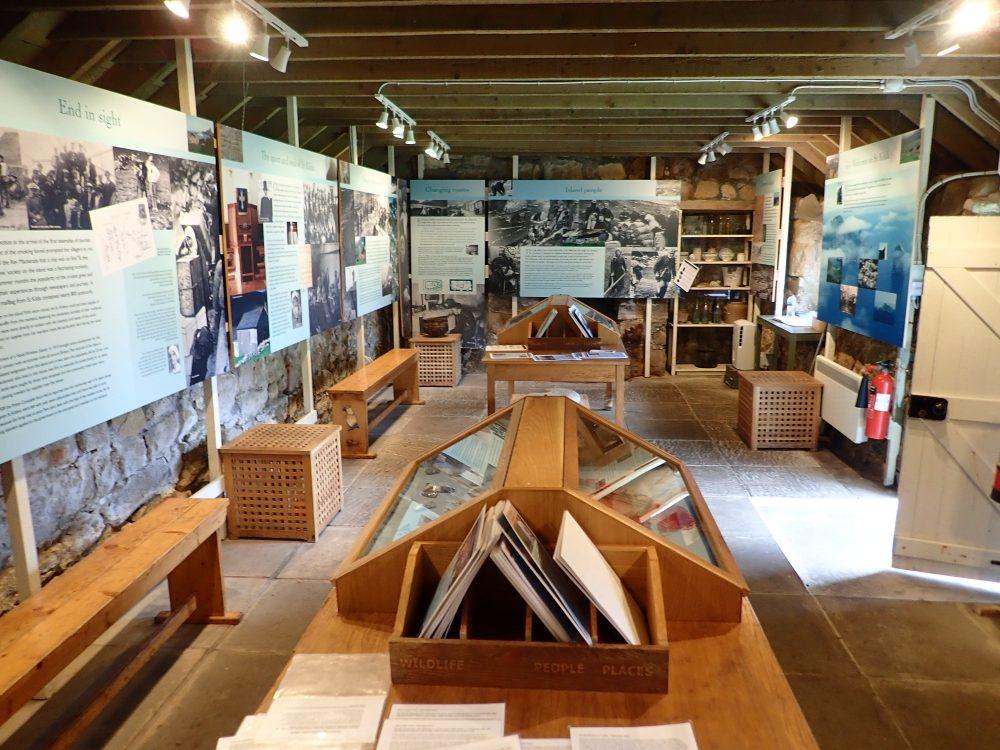 St Kilda museum Scottish Islands NTS