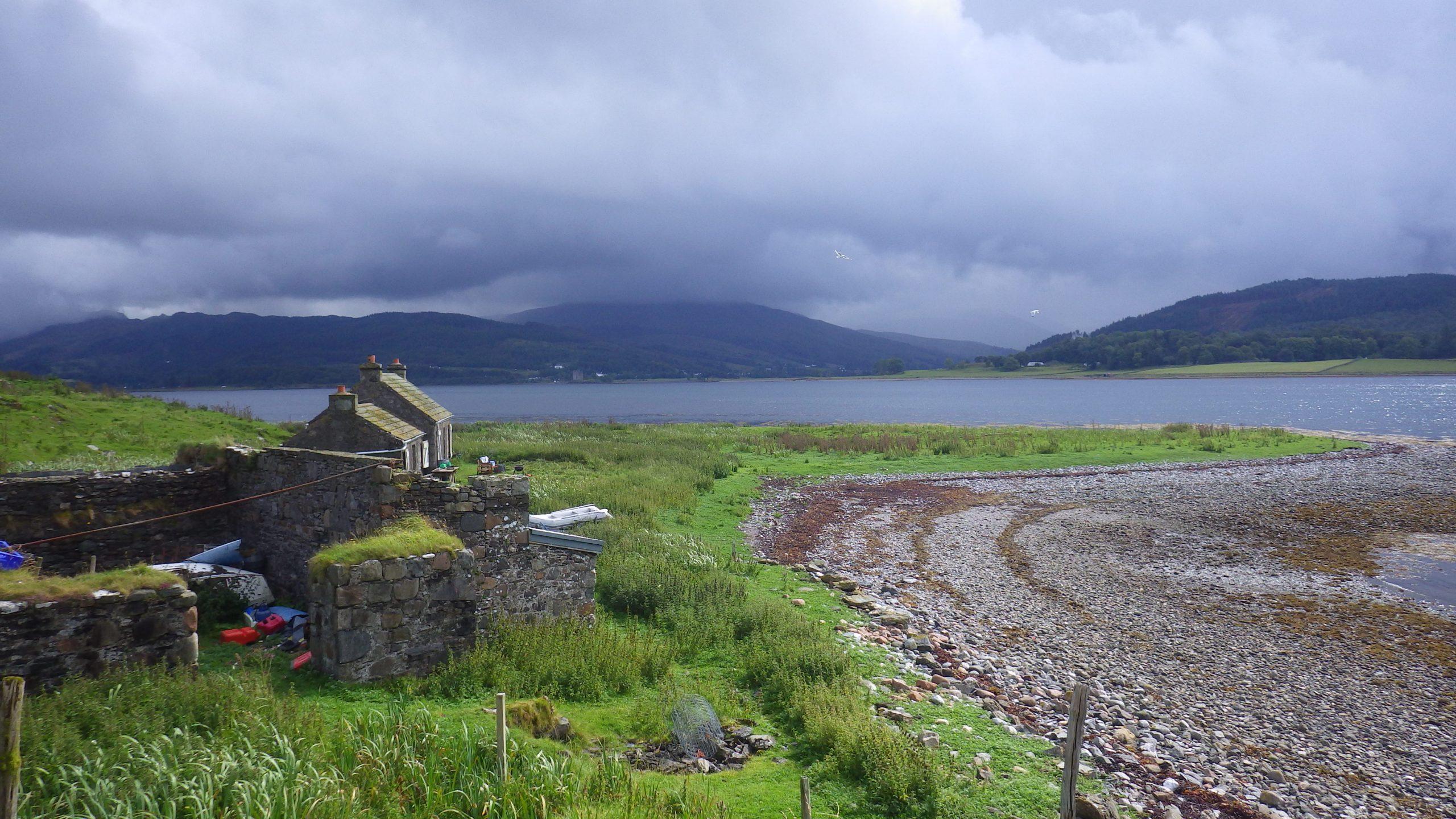 Eilean nan Caorach Appin Cottage Beach
