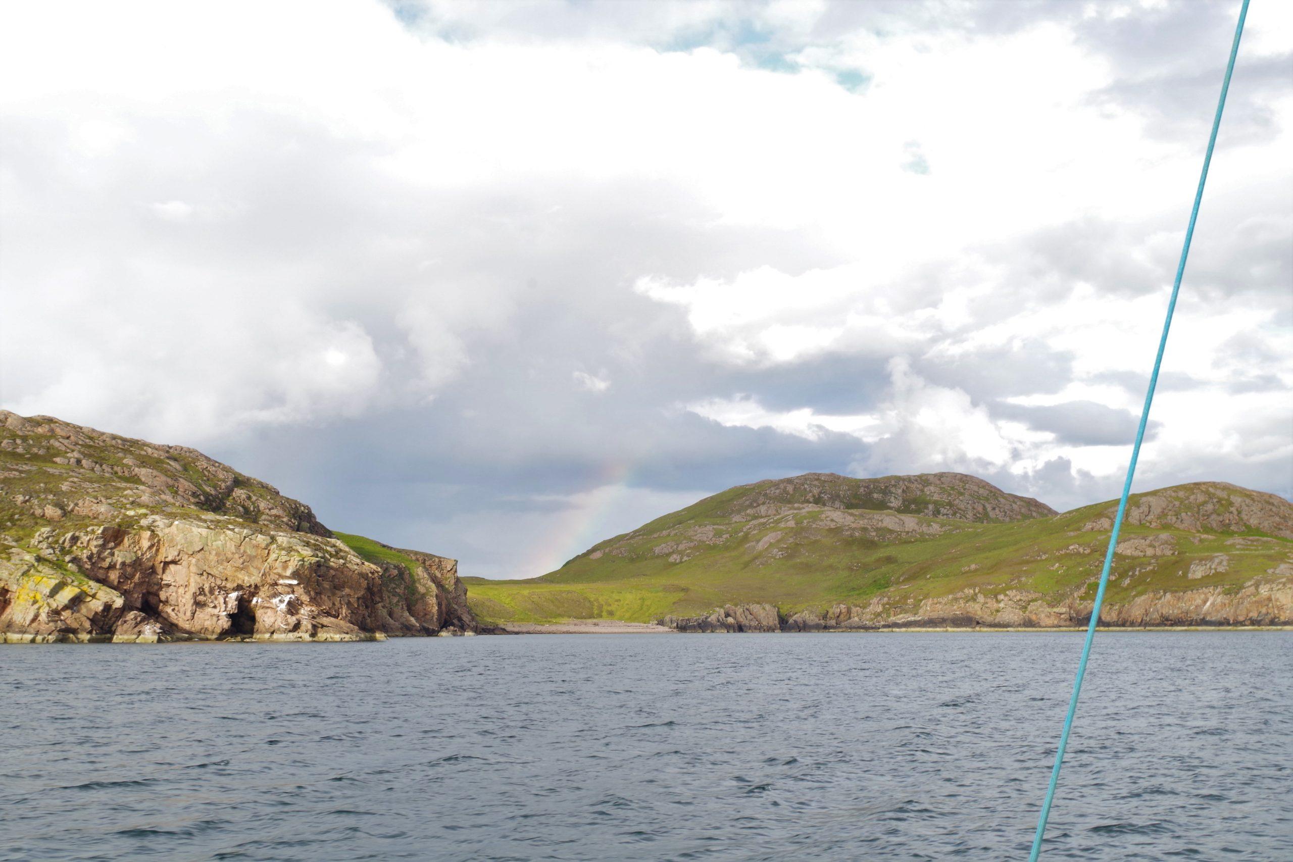 Approaching bay on Tanera Mor