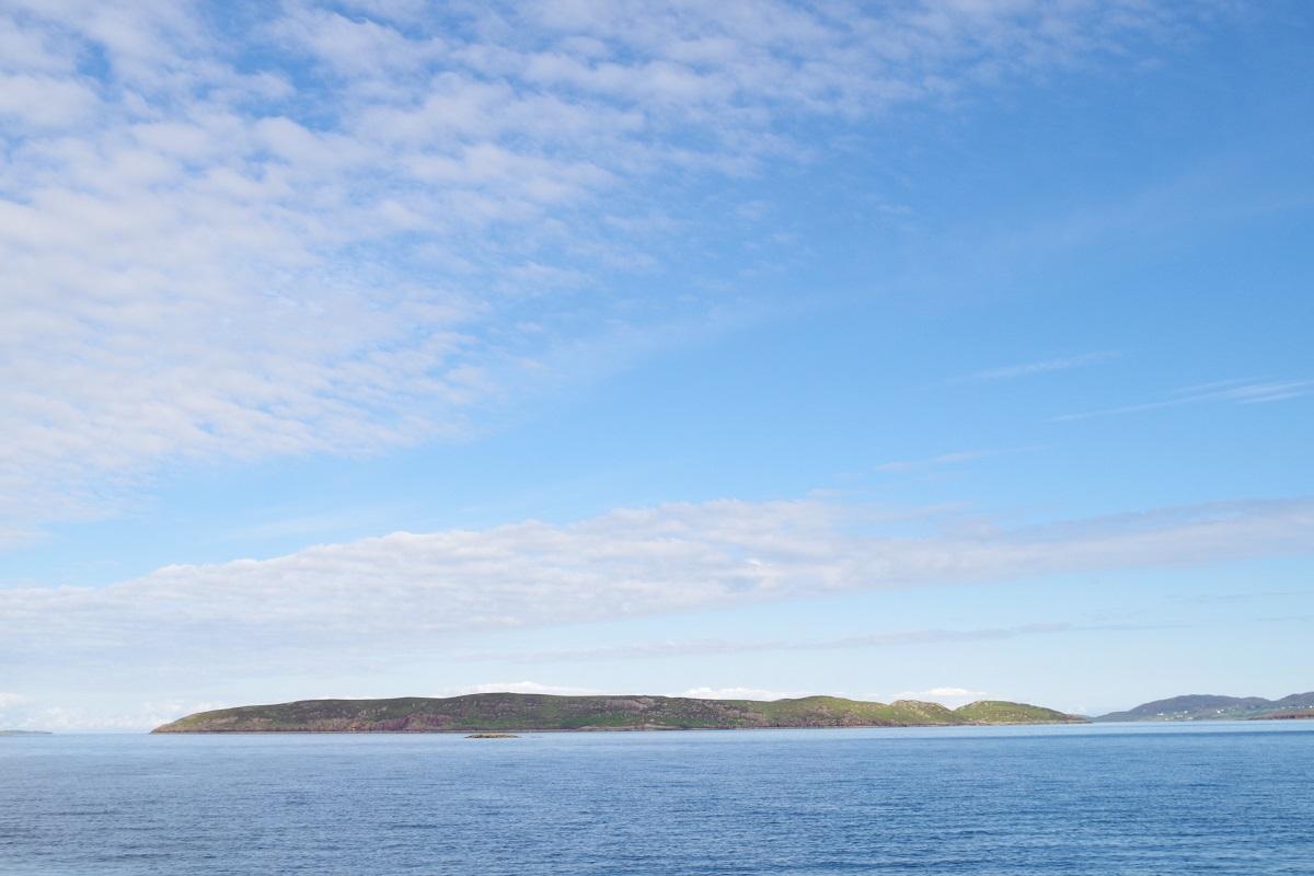 Scotislands Horse island low lying