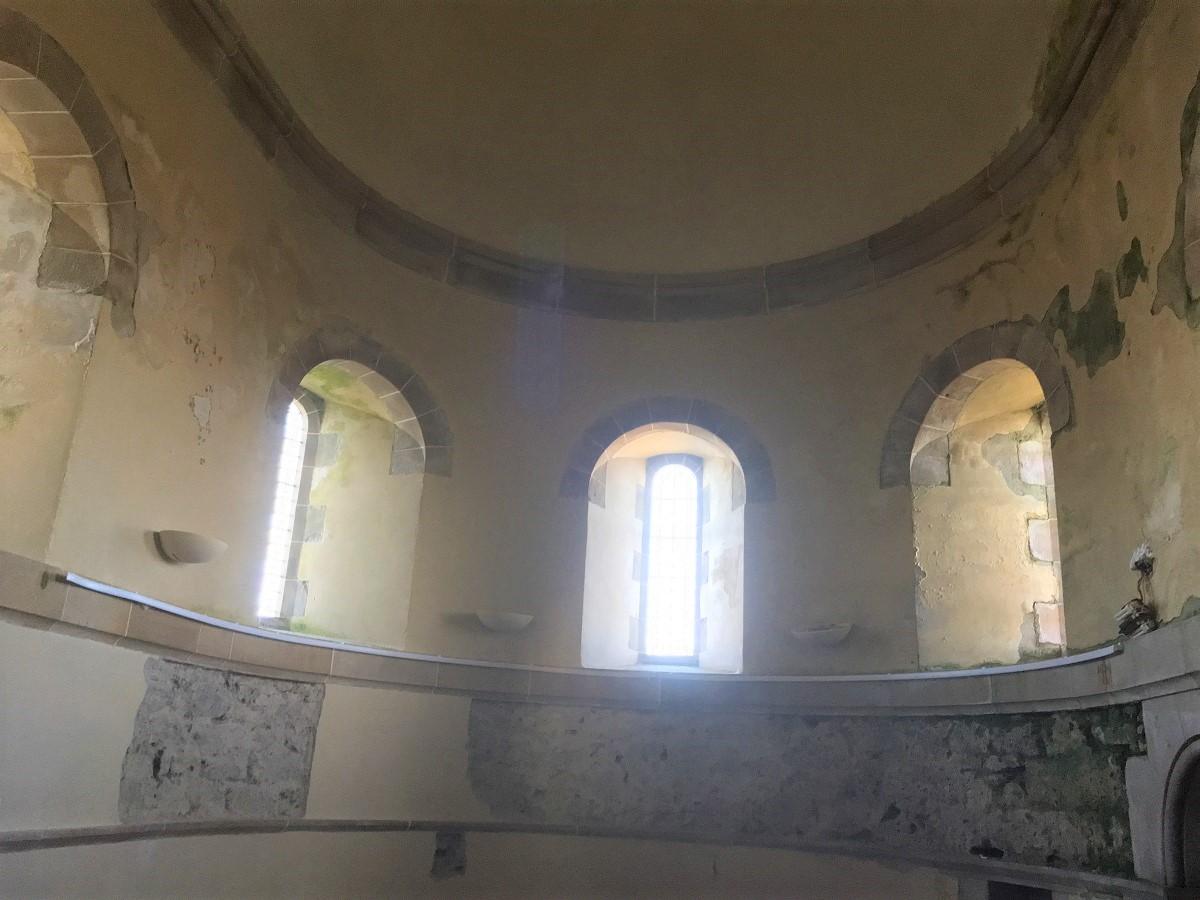 St Edwards chapel Sanday inside church