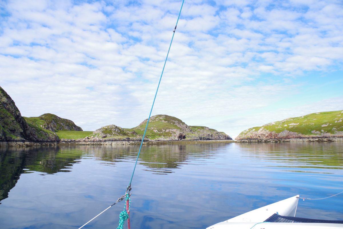 Scottish island sailing