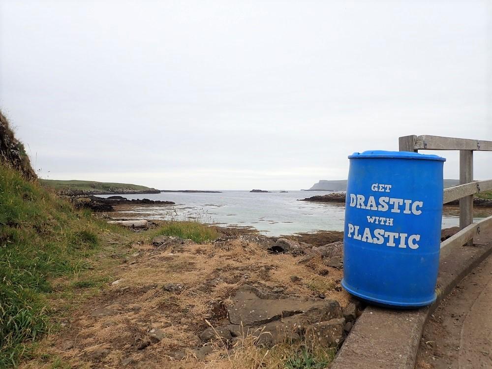 Plastic waste collector scotland coasts