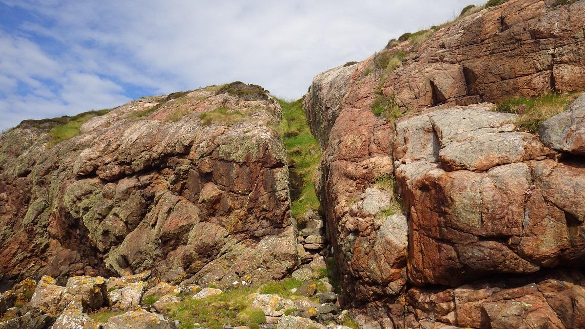Scottish Islands Meal nan Gabhar staircase