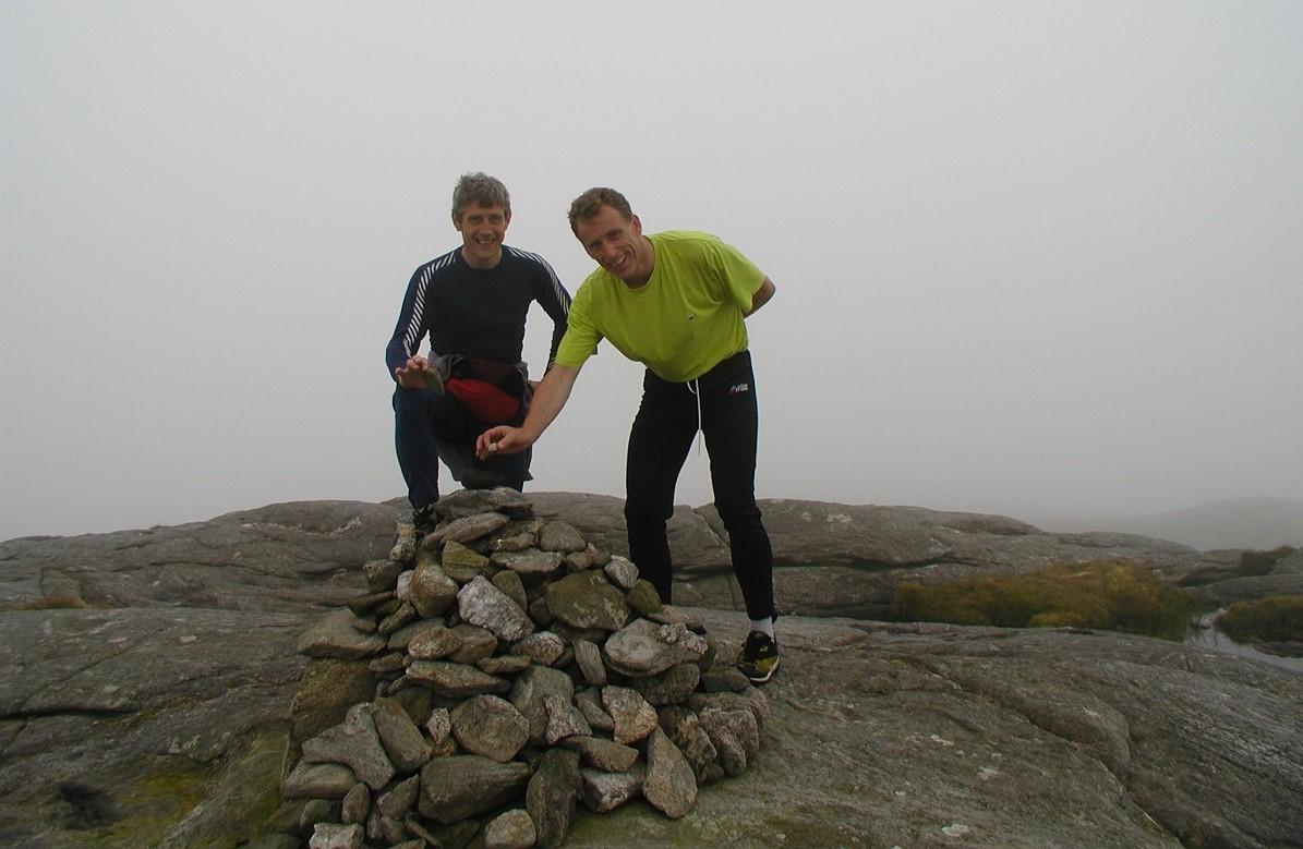 Minglay McPhees hill summit