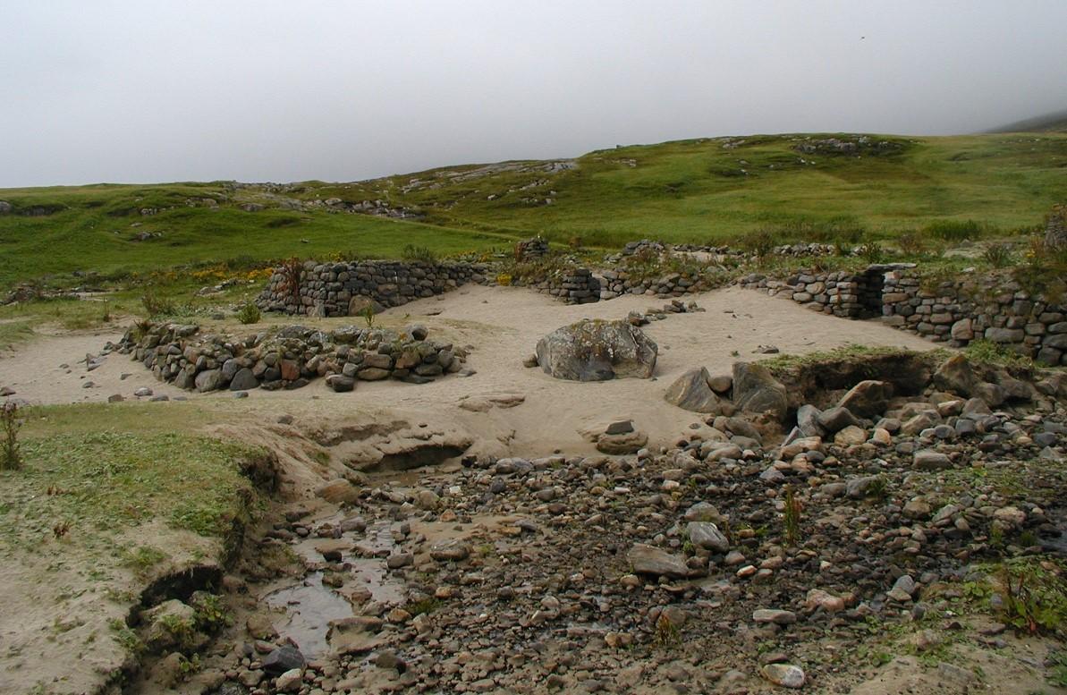 Mingulay village ruins
