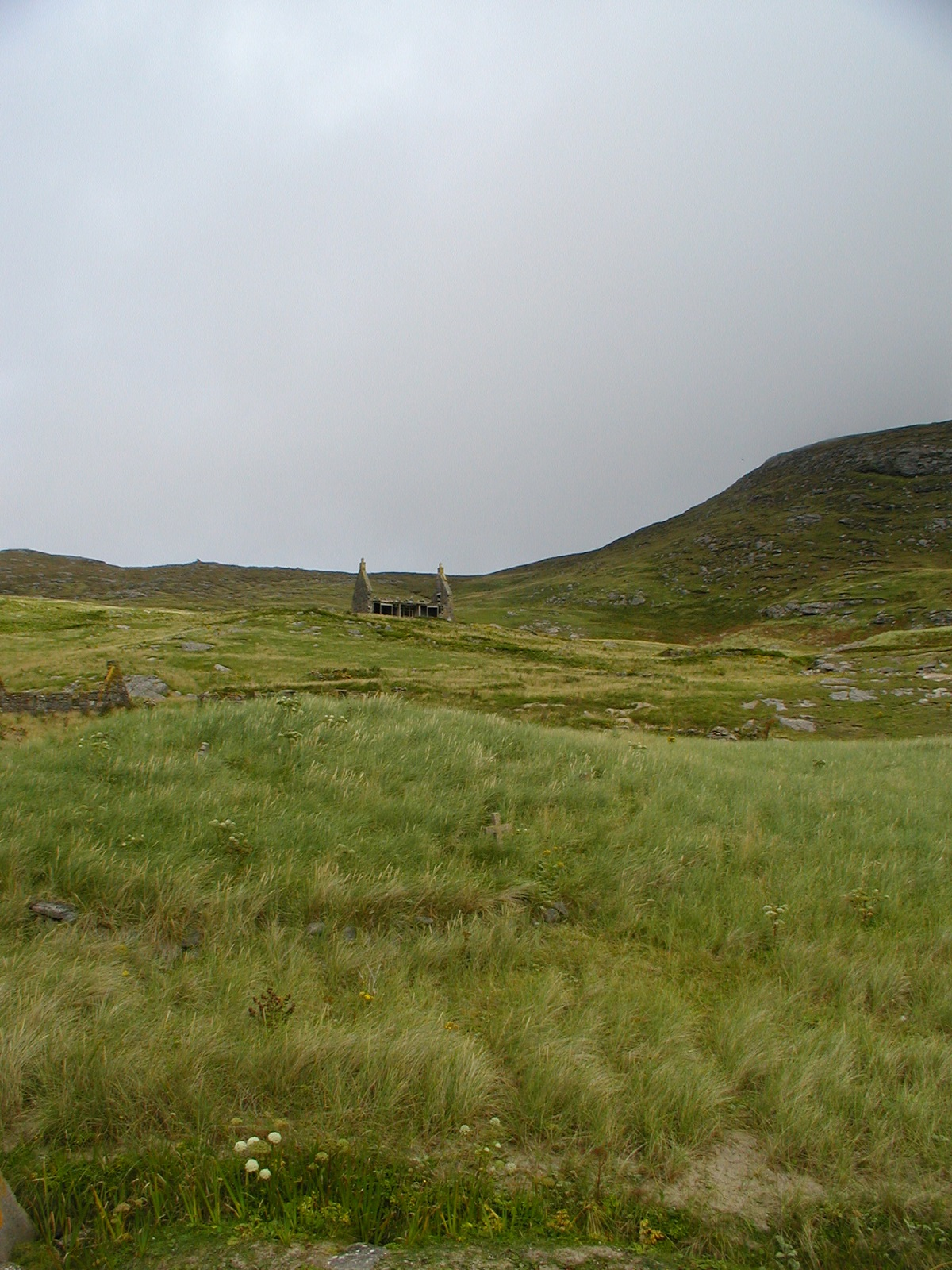 MIngualy ruin in grasslands