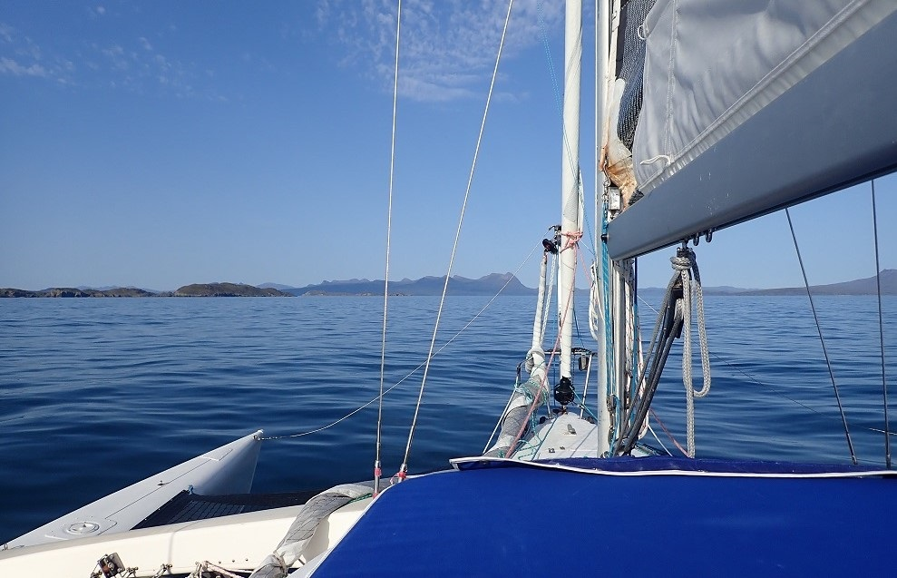 Sailing west coast of scotland