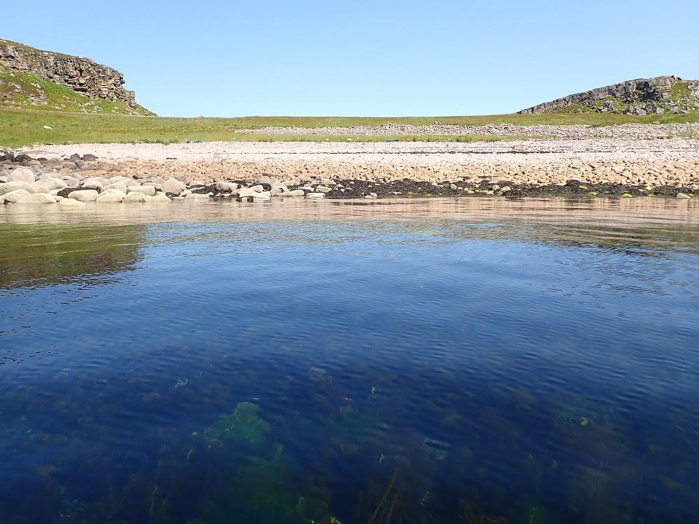 Eag Mhor bay Longa island Scotland