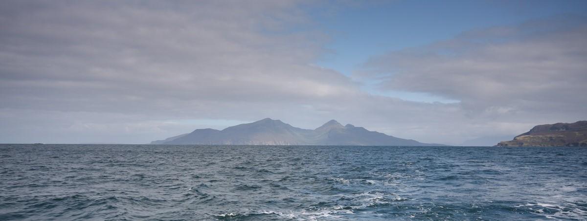 Rum Scotland island