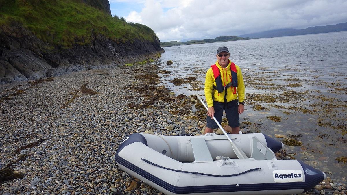 Willie Gibson Scottish island hopping