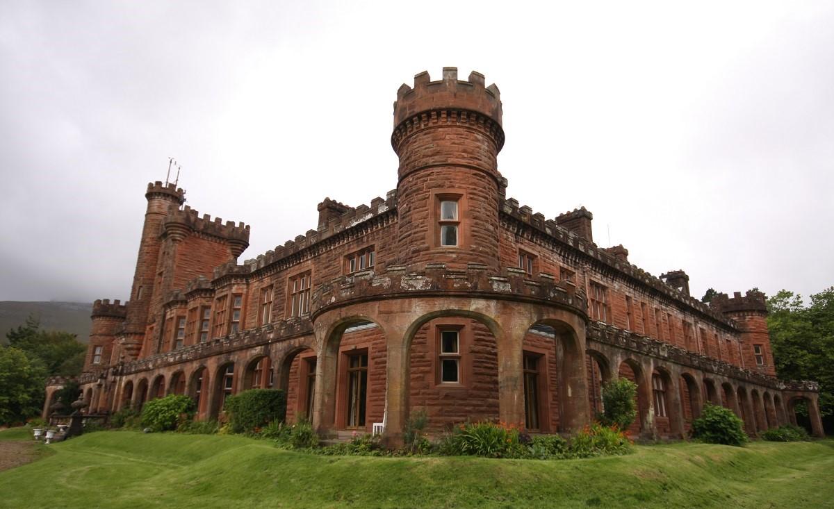 Kinloch Castle Rum Scotland