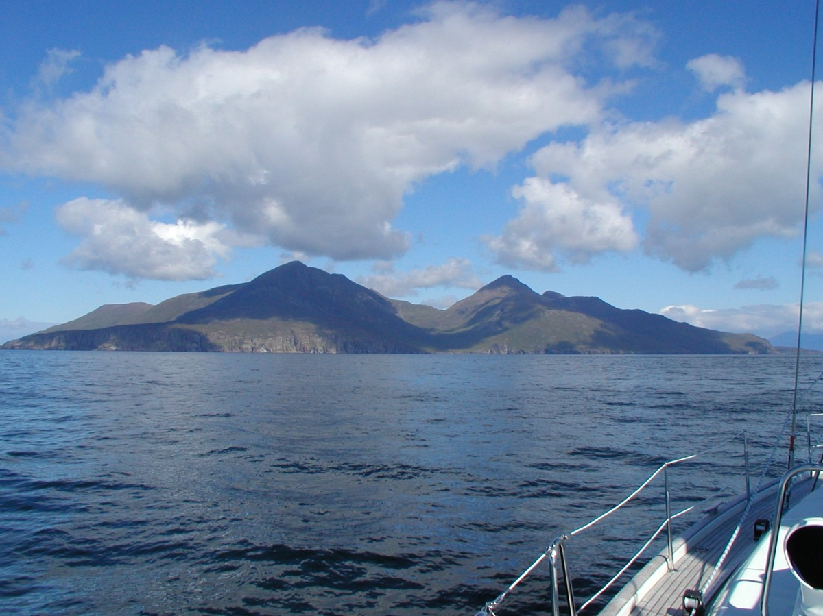 Ilsand if Rum Scottish islands