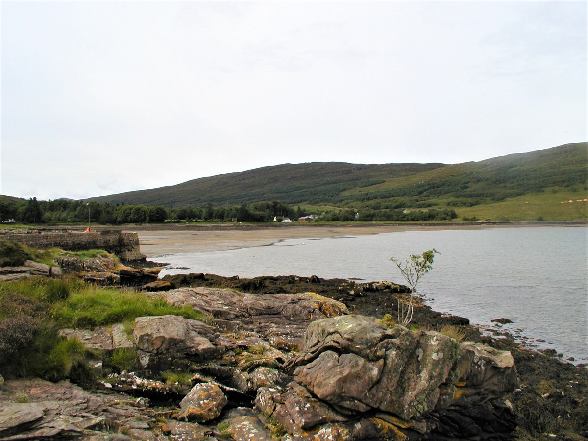 Loch Scresort Isldand of Rum Small Isles beach