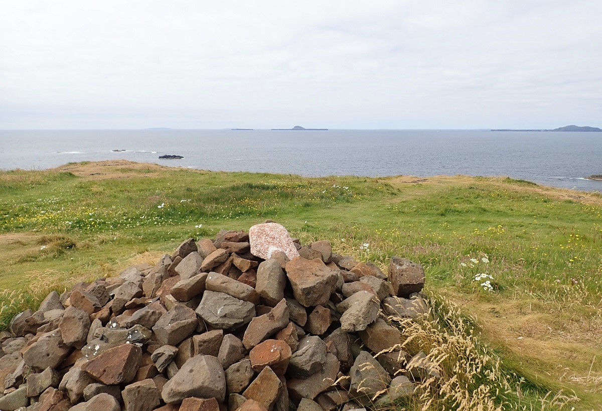 Cairn on Staffa
