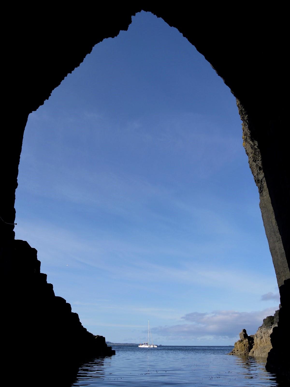 Fingals Cave Staffa inside