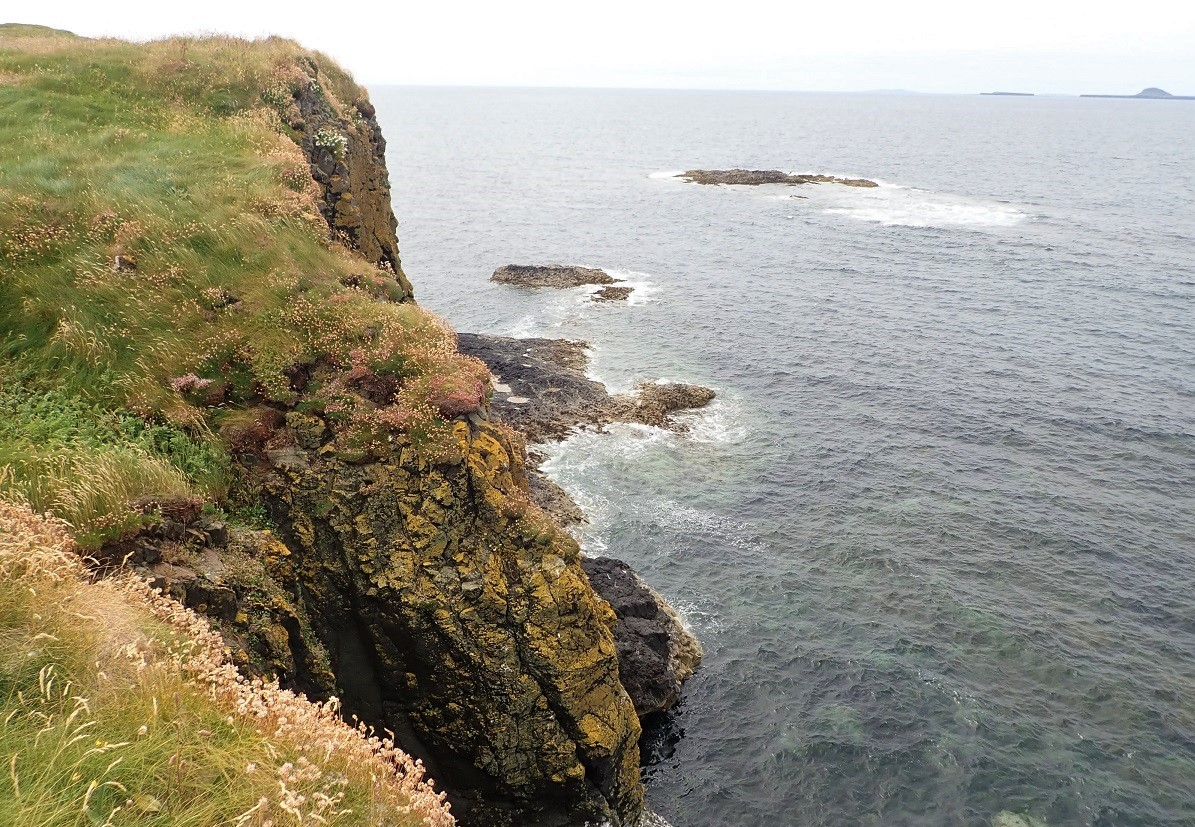 South west shore Staffa island