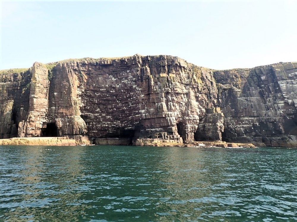 Handa Island West Cliffs Scotislands