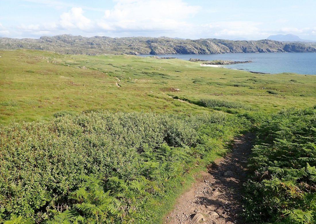 Path on Handa Island