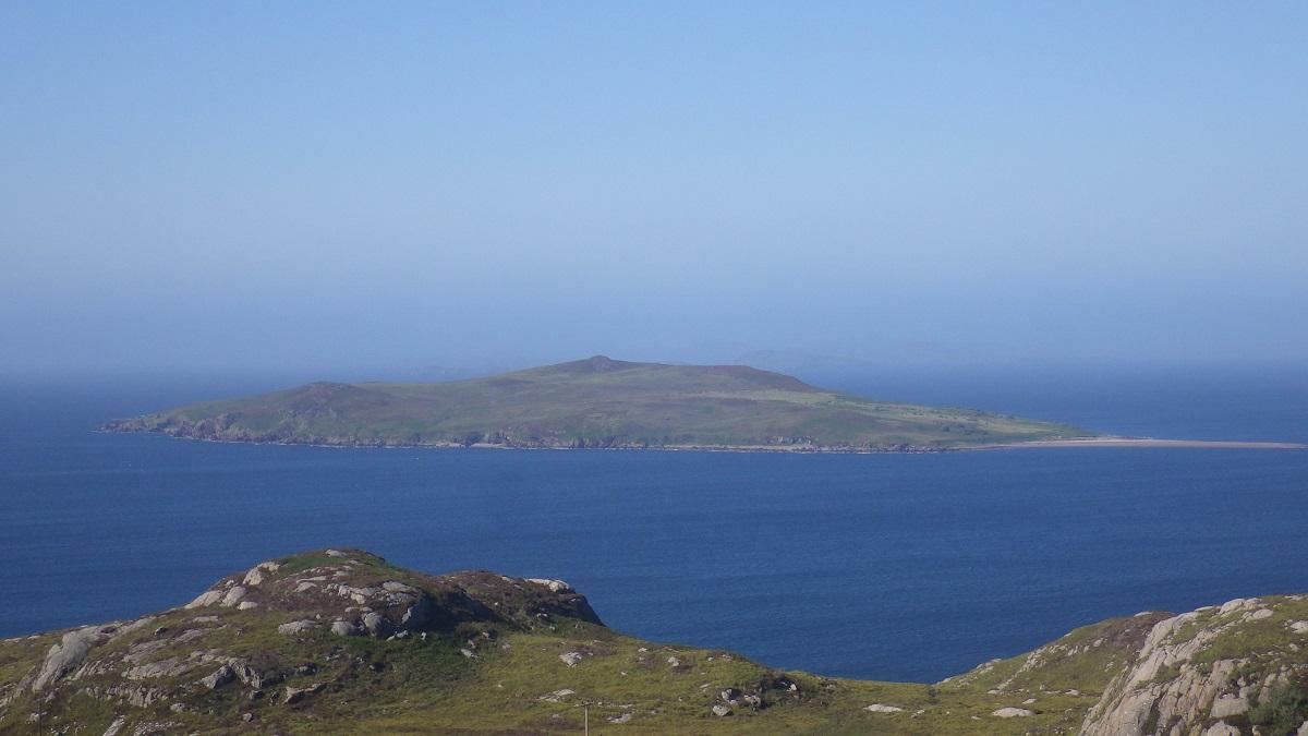 Gruinard island anthrax from shore