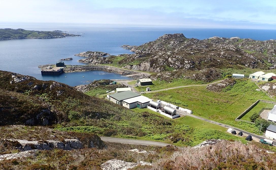 MOD base isle of Rona Scotland