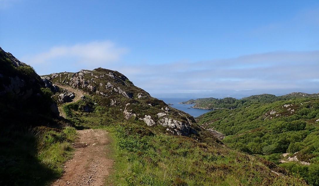 Acairseid Mhor anchorage island of Rona