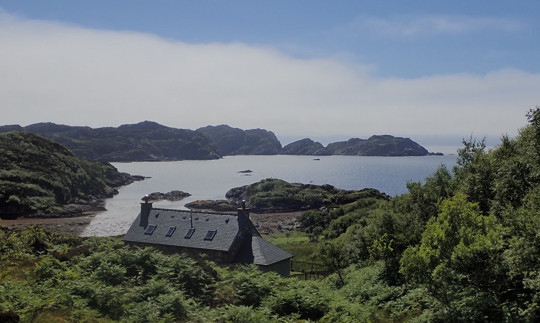 Dry Harbour island of Rona holiday cottage