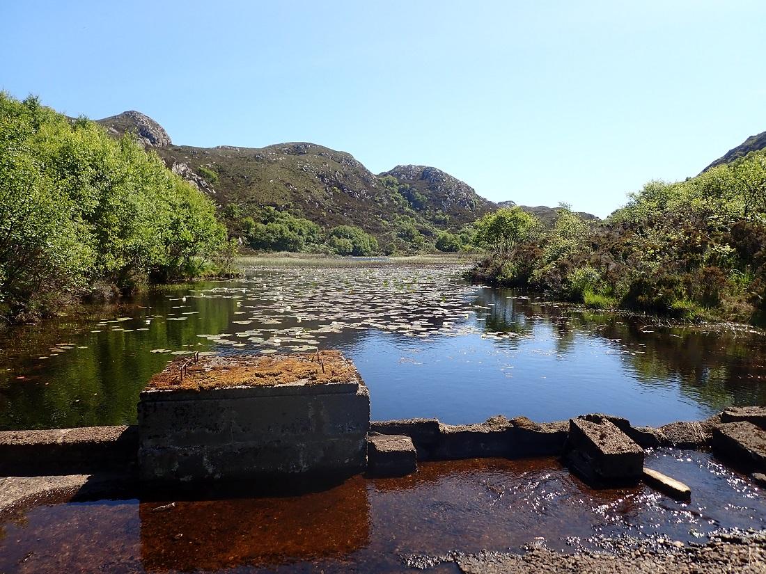 Loch Braig Isdand of Rona Scotland