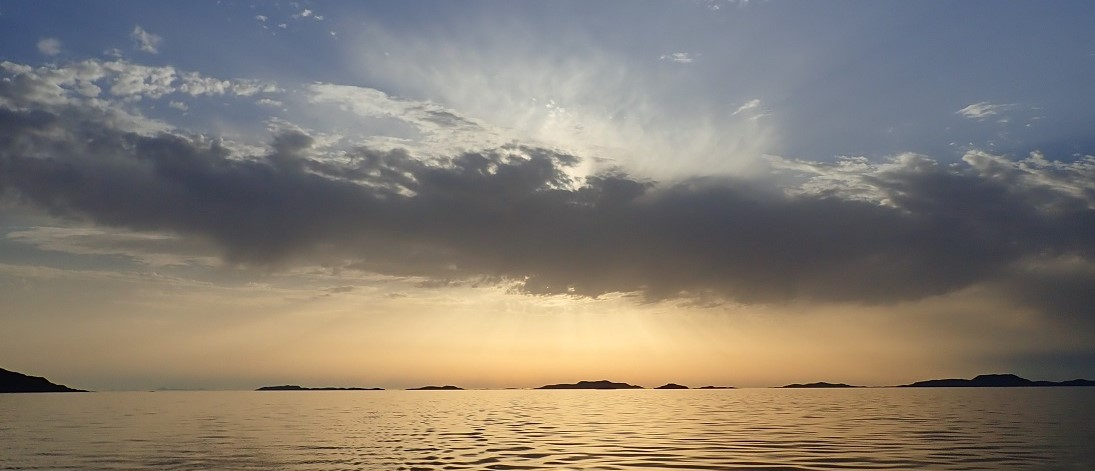 Summer isles sunset loch boom scotland scotislands