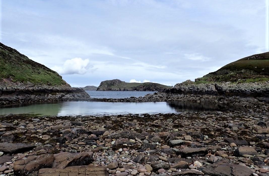 Carn Iar Summer isles boulder beach
