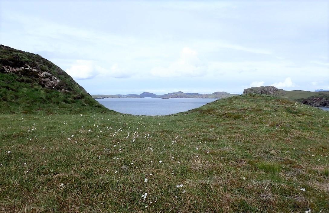 Carn Iar grassland Scottish islands
